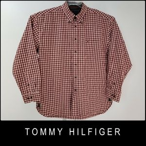 Tommy Hilfiger Plaid & Check Long Sleeve Shirt XL